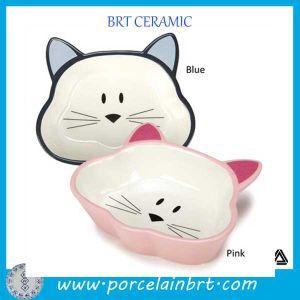 Китай питания фантазии керамические Cat формы ПЭТ блюдо