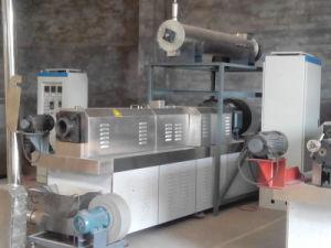 La proteína de soja texturizada de frijoles de la carne de la máquina extrusora