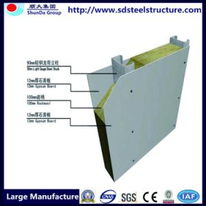 Structure en acier de construction b timent de l 39 entrep t for Maison container 50000