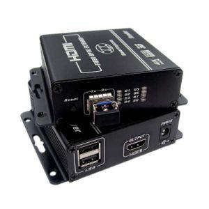 Разбиватель HDMI над передачей волокна реальной 4k Uhd (2200)