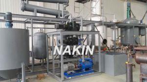Sistema PLC Novo Design Preto máquina de reciclagem de óleo de motor