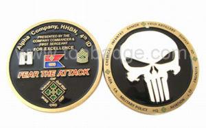 Moda esmalte programável vendas quentes personalizadas moeda metálica (FDCN2214F)