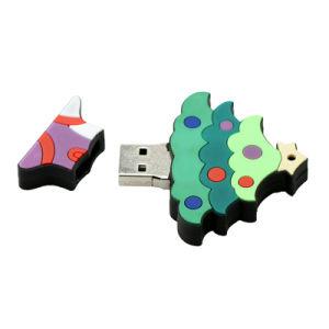 Bastone di memoria del USB del Buy di Keychain dell'azionamento dell'istantaneo dell'albero di Natale 8GB