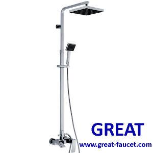 Shower Columnの正方形のBath Faucet