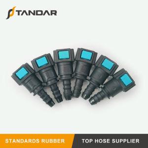 Connettori rapidi di plastica diritti per la riga di tubo flessibile del combustibile