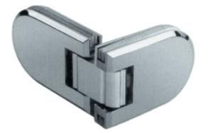 Charnière de vitre de porte de douche en acier