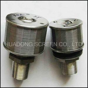 Нержавеющая сталь 304 воды с помощью проволоки фильтр форсунки провод клина сетчатый фильтр
