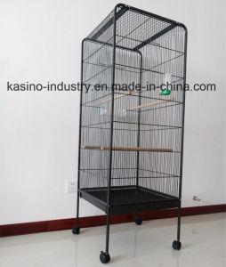 Metal extraíble de alta calidad de cría o Loro/Ave/Pajarera jaula con techo plano BC102