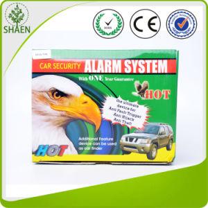 Alta calidad de 2 vías de la alarma de coche con el arranque del motor.