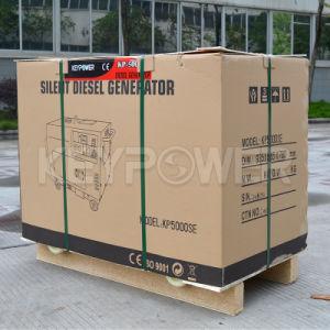 5kVA refroidi par air Groupe électrogène diesel portable avec système de charge du volant moteur