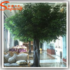 China Fabricante viver artificial das plantas de Ficus Banyan Tree