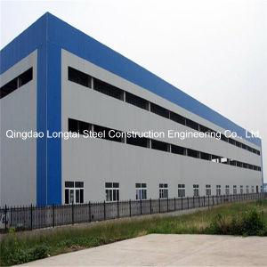 Paneles sándwich de prefabricados de estructura de bastidor de acero /Factory diseño de edificios