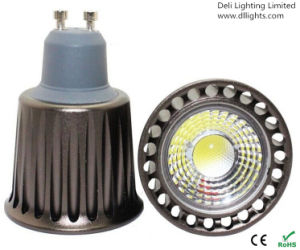 GU10 Epistar Chip 5W COB LED Spotlight