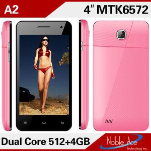 A MTK6572 cartão duplo SIM Xld Dual Standby A2 Celular