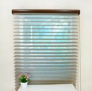 100% poliéster Shangri-La cortinas Roller tela Cristal obturador
