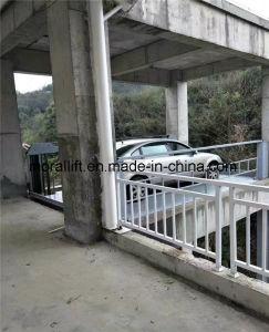 Uso idraulico della casa dell'elevatore dell'automobile di alberino di verticale quattro