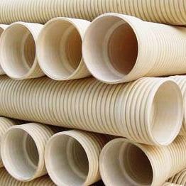 Tubo ondulato doppio di U-PVC