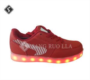 Luz LED de nivel superior de Deportes zapatos casual