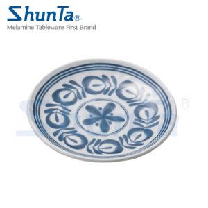 100 % de la mélamine vaisselle 10plaque ronde (DC13807-10)