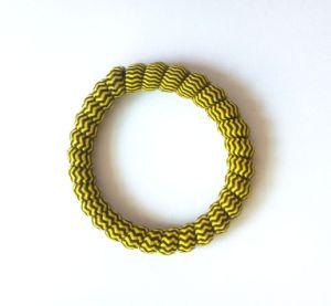 Het Koord Hairbands van de Telefoon van de Decoratie van de streep