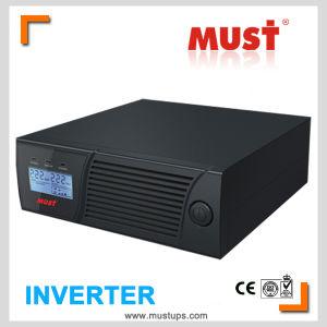 LCD الرئيسية العاكس 1000VA 2000va المسؤول الحالي 10 AMP/20AMP قابل للتعديل