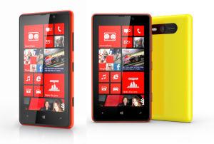 Original desbloqueado para smartphone de Nokia Lumia 820 Teléfono móvil 8MP
