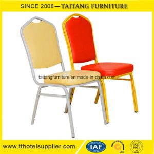 耐久のホテルの家具の明白なスタッキングの宴会の椅子