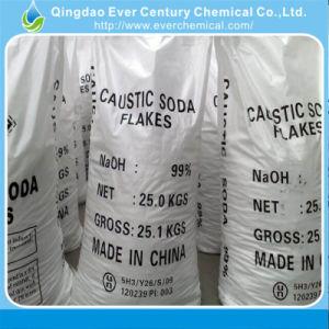99% de pureza de flocos de soda cáustica no saco de 25 kg