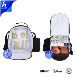 Для портативных обед Bag Canvas изолированный сумки охладителя тепловой продовольственной дамской сумочке