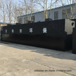 De Installatie van de Behandeling van afvalwater van het Pakket van Wsz voor de Binnenlandse Behandeling van het Afvalwater