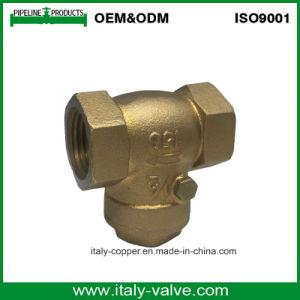 OEM и ODM качество латунные поддельных обратный клапан поворотного механизма (AV-CV-5005)