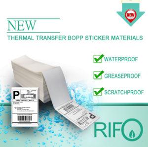 Impressão personalizada de Transferência Térmica etiqueta autocolante de cola para vidros