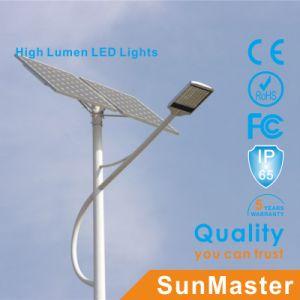 Advertisement Boxの屋外の5m6m7m 8mポーランド人Solar Road Light Path Lightの庭Light