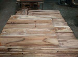 Les petites feuilles planchers en bois massif Accacia