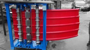 Dx 850/988/825/900 Vitesse rapide de la machine de courbure de toiture en carton ondulé