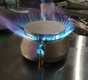 4 Brenner-Gas-Reichweiten-Kocher mit Gas-Ofen (HGR-74G)