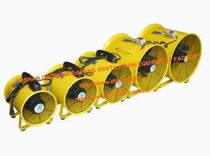 Ventilatore assiale 220-240V dell'estrattore del gruppo di lavoro del ventilatore del ventilatore portatile