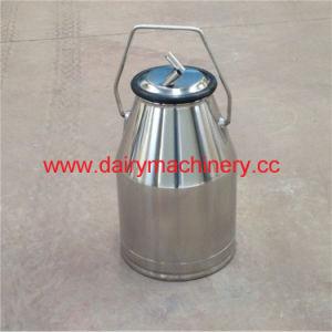 Caçamba da ordenha de aço inoxidável para máquina de ordenha