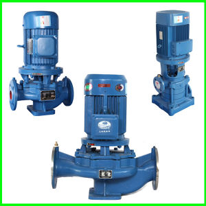De alta presión sanitarias centrifugas verticales bomba de agua centrífuga