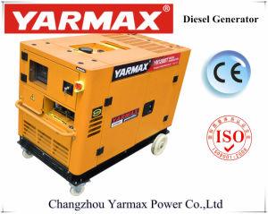 Yarmax экономической бесшумный дизельный генератор с воздушным охлаждением дизельного генератора 10 ква бесшумный генераторах