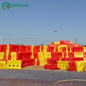 1400mm / 55 o tráfego de moldagem rotacional Barreira de Água - Vermelho e amarelo