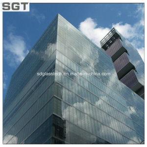 39.52mm (10+16A+6+1.52SGP+6)明確な強くされた熱によって浸される低いE Iguの正面ガラス