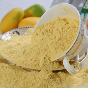 El mango de frutas en polvo instantánea