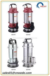 Qdxs15-7-0.55 погружение насоса воды для орошения