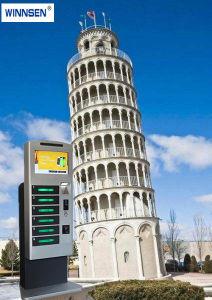 De openlucht het Laden van de Telefoon van de Vertoning van de Monitor van de Reclame Facultatieve Oplossing van de Betaling van de Kiosk