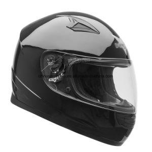 Amazon vende caliente ABS de color de la etiqueta de la CEPE DOT aprobado casco de motocicleta