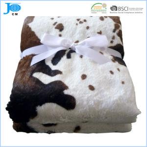 100% coperta del panno morbido della flanella stampata poliestere