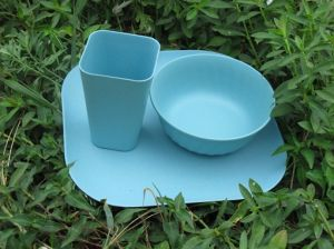 Eco Fibre de bambou vaisselle combinaison série (BC-CS1027)