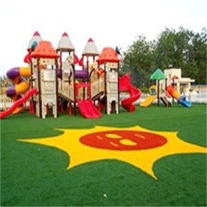 Gras van de Decoratie van het Ornament van het Gazon van de kleuterschool het Kunstmatige Kleurrijke