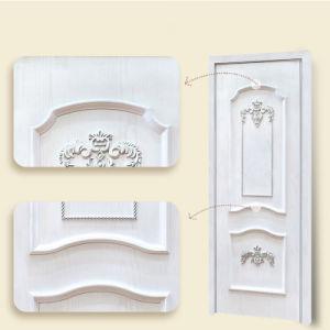 Entrate principali di legno moderne solide contemporanee di Anti-Deformazione su ordinazione